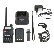 BAOFENG UV-5R WALKIE DOBLE BANDA VHF/UHF+PINGANILLO DE REGALO