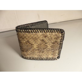 Rattlesnake Leather Wallet
