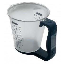Cruche de pesage numérique, mesure 600 ml.