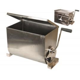Couvercle en acier inoxydable pour mélangeur manuel