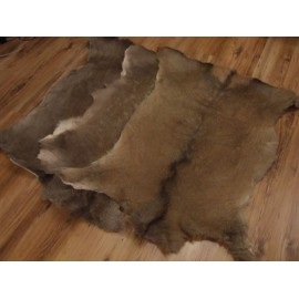 Carpet deer skin